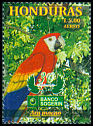 Cl: Scarlet Macaw (Ara macao)(Repeat for this country)  SG 1529 (1999)
