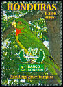 Cl: Red-throated Parakeet (Aratinga rubritorques) SG 1519 (1999)