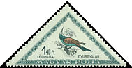 Cl: European Bee-eater (Merops apiaster) <<Gyurgyalag>> (Repeat for this country)  SG 1232 (1952) 125