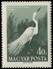 Cl: Great Egret (Ardea alba) <<Nagy kocsag>>  SG 1577 (1959) 30 [2/7]