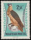 Cl: Lammergeier (Gypaetus barbatus)(Out of range)  SG 1856 (1962) 50 [2/2]
