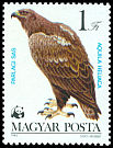Cl: Imperial Eagle (Aquila heliaca) <<Parlagi sas>> (Repeat for this country)  SG 3508 (1983) 25
