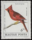Cl: Northern Cardinal (Cardinalis cardinalis)(Out of range)  SG 3640 (1985)  [2/2]