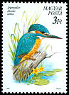 Cl: Common Kingfisher (Alcedo atthis) <<J&eacute;gmad&aacute;r>>  SG 3961 (1990) 65
