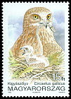 Cl: Short-toed Eagle (Circaetus gallicus) <<Kigy&aacute;sz&ouml;lyv>>  SG 4101 (1992) 55