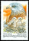 Cl: Red Kite (Milvus milvus) <<V&ouml;r&ouml;s k&aacute;>>  SG 4102 (1992) 140