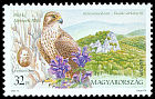 Cl: Saker Falcon (Falco cherrug) <<Kerecsens&oacute;lyom>> (Repeat for this country)  SG 4439 (1999)