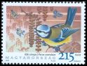 Cl: Eurasian Blue Tit (Cyanistes caeruleus) <<K&eacute;k cinege>> (Repeat for this country)  SG 5255 (2010)  [6/38]