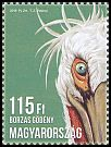 Cl: Dalmatian Pelican (Pelecanus crispus)(I do not have this stamp)  new (2016)
