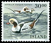 Cl: Long-tailed Duck (Clangula hyemalis) <<H&aacute;vella>>  SG 721 (1988) 140