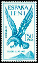 Cl: Golden Eagle (Aquila chrysaetos)(Repeat for this country)  SG 215 (1965) 90