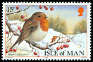 Cl: European Robin (Erithacus rubecula)(Repeat for this country)  SG 397 (1988) 85