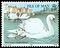 Cl: Mute Swan (Cygnus olor)(Repeat for this country)  SG 490 (1991) 55