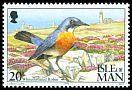 Cl: White-throated Robin (Irania gutturalis) SG 583 (1994)