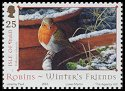 Cl: European Robin (Erithacus rubecula)(Repeat for this country)  SG 1185 (2004)  [3/27]
