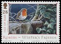 Cl: European Robin (Erithacus rubecula)(Repeat for this country)  SG 1186 (2004)  [3/27]
