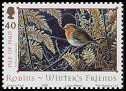 Cl: European Robin (Erithacus rubecula)(Repeat for this country)  SG 1187 (2004)  [3/27]