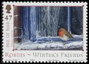 Cl: European Robin (Erithacus rubecula)(Repeat for this country)  SG 1188 (2004)  [3/27]
