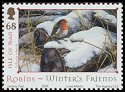 Cl: European Robin (Erithacus rubecula)(Repeat for this country)  SG 1189 (2004)  [3/27]