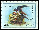 Cl: Barn Swallow (Hirundo rustica) SG 1656 (1971) 100