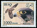 Cl: Peregrine Falcon (Falco peregrinus)(Repeat for this country)  SG 2404 (2012)  [11/10]