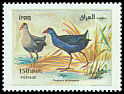 Cl: Purple Swamphen (Porphyrio porphyrio) SG 2086 (2000)