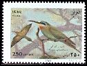 Cl: Blue-cheeked Bee-eater (Merops persicus) SG 2234 (2007)  [4/30]