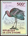 Cl: Glossy Ibis (Plegadis falcinellus)(I do not have this stamp)  new (2014)