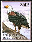 Cl: African Fish-Eagle (Haliaeetus vocifer)(Repeat for this country)  new (2014)  [9/8]