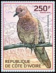 Cl: Laughing Dove (Streptopelia senegalensis)(I do not have this stamp)  new (2014)