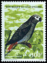 Cl: Grey Parrot (Psittacus erithacus)(Repeat for this country)  SG 1210 (1999) 200