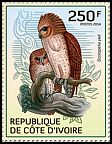 Cl: Pel's Fishing-Owl (Scotopelia peli)(Repeat for this country) (I do not have this stamp)  new (2014)