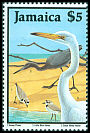 Cl: Great Egret (Ardea alba) SG 709 (1987)