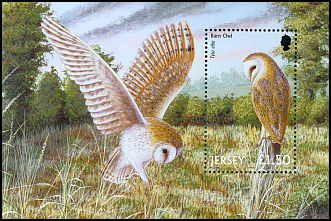 Cl: Barn Owl (Tyto alba)(Repeat for this country)  SG 1005 (2001)