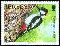 Cl: Great Spotted Woodpecker (Dendrocopos major) SG 1496 (2010)  [6/35]