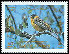 Cl: Black-headed Bunting (Emberiza melanocephala) SG 1516 (1987) 20
