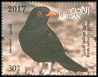 Cl: Eurasian Blackbird (Turdus merula)(Repeat for this country)  new (2017)  [11/33]