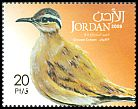 Cl: Cream-coloured Courser (Cursorius cursor) SG 2221 (2009)  [6/3]