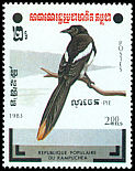 Cl: Eurasian Magpie (Pica pica)(Out of range)  SG 466 (1983) 200