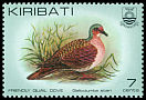 Cl: Friendly Ground-Dove (Gallicolumba stairi) SG 167 (1982) 20