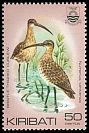Cl: Bristle-thighed Curlew (Numenius tahitiensis)(Repeat for this country)  SG 175 (1982) 40