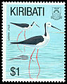 Cl: White-headed Stilt (Himantopus leucocephalus) SG 400 (1993) 125