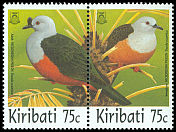 Cl: Micronesian Imperial-Pigeon (Ducula oceanica)(Repeat for this country)  SG 546-7 (1997) 200
