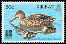 Cl: Northern Shoveler (Anas clypeata)(Repeat for this country)  SG 576 (1999) 40