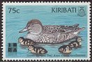 Cl: Green-winged Teal (Anas carolinensis)(Repeat for this country)  SG 578 (1999) 55