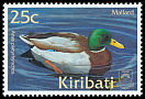 Cl: Mallard (Anas platyrhynchos)(Repeat for this country)  SG 621 (2001)