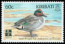 Cl: Green-winged Teal (Anas carolinensis) SG 577 (1999) 45