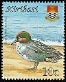 Cl: Eurasian Teal (Anas crecca)(Repeat for this country)  SG 811 (2008)  [4/45]