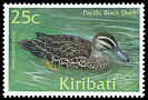 Cl: Pacific Black Duck (Anas superciliosa) SG 623 (2001)