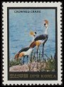 Cl: Grey Crowned-Crane (Balearica regulorum)(Out of range)  SG 2450 (1984)  [2/28]